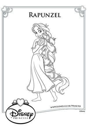 17 Best images about disney princess colouring pages on