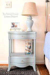 25+ best ideas about Blue nightstands on Pinterest   Blue ...