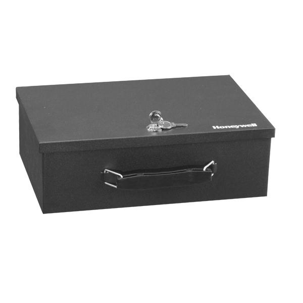 Honeywell Safes 6104 Steel Security Box Lock Boxes