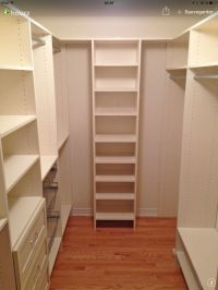 Walk-in | Rangement | Pinterest | Closet layout, Closet ...