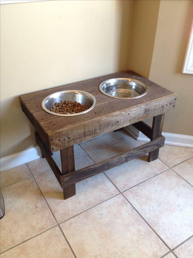 DIY Raised Dog Bowlspet Feeder Pallet Project Made