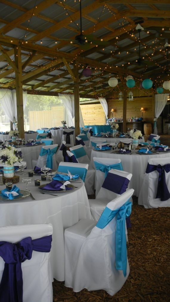 teal chair covers for wedding how to cane a 25+ best ideas about purple turquoise weddings on pinterest | blue wedding, ...