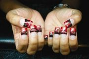 cardinal nails #nfl tattoos