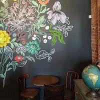 The 25+ best ideas about Flower Mural on Pinterest | Mural ...