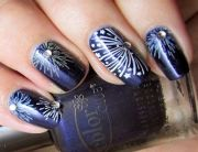 1000 ideas firework nails