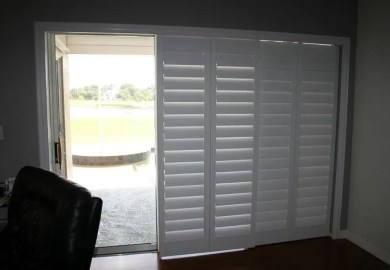 Sliding Door Blinds And Shades