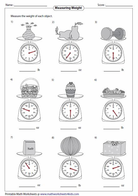 20 best images about Weights and Measures Using Balance