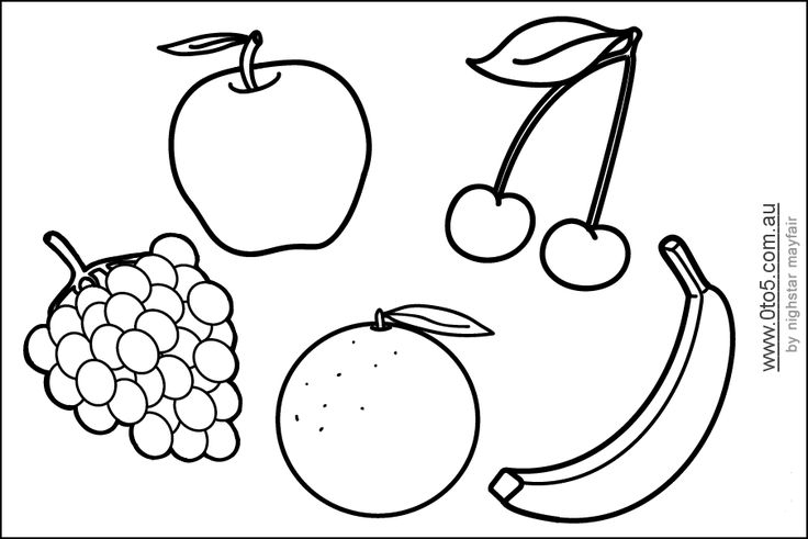 Fruit, Templates and Shape on Pinterest
