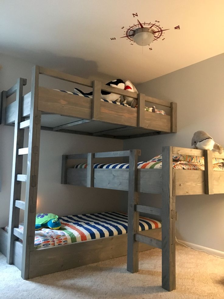 Best 20+ Triple bunk beds ideas on Pinterest