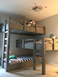 Best 20+ Triple bunk beds ideas on Pinterest | Triple bunk ...