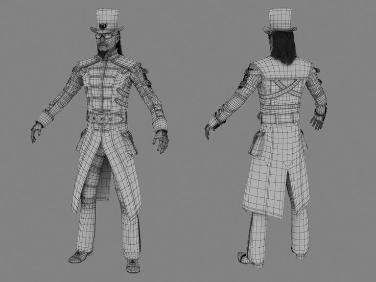 133 best images about 3D/ Wireframe/ Characters on