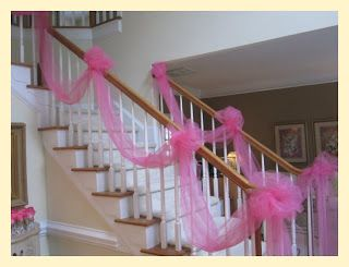 images of stairway wedding decorations