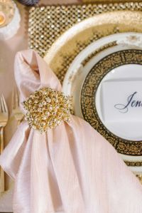 25+ best ideas about Gold Napkin Rings on Pinterest