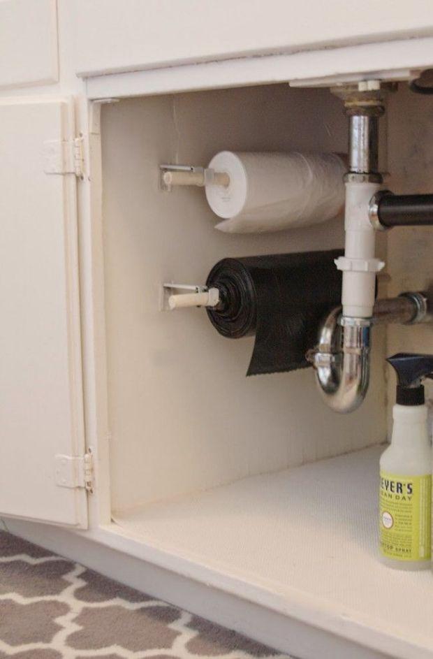 DIY Under Sink Organization