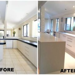 Two Tone Kitchen Island Cabinet Painting Ideas 1000+ Images About Before & After Transformations - By ...