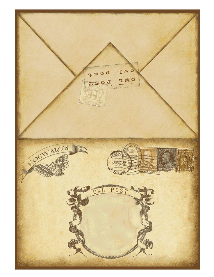 Harry Potter Printable Invitation 2