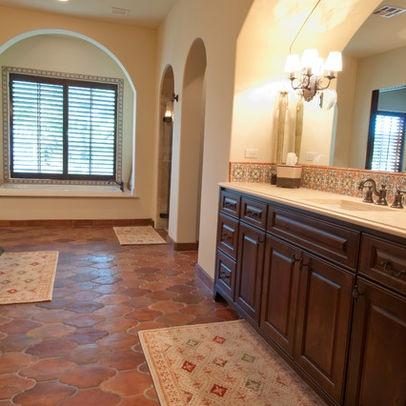Bathroom saltillo tiles Design Ideas, Pictures, Remodel