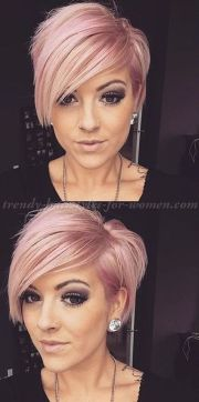 short bangs hairstyles