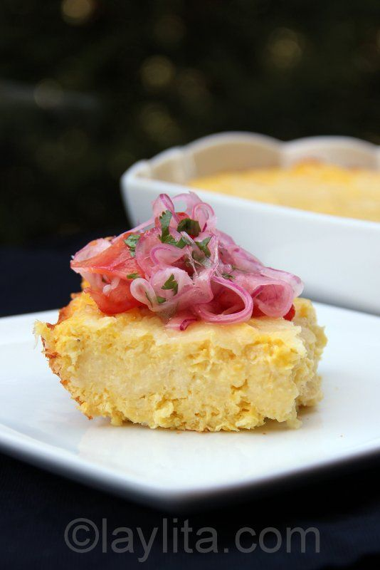 Image result for The Ultimate Loaded Egg, Lox, and Masa Corn Cake
