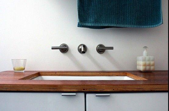 plywood kitchen countertop ideas Marine plywood bathroom countertops | Architectural Gems