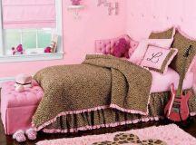 adorable girl's #bedroom #pink #leopard | Quartos ...