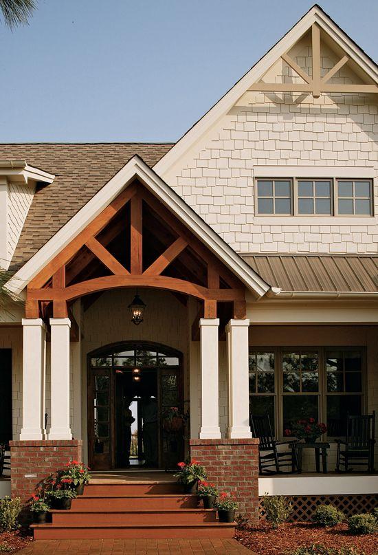 AwardWinning Craftsman Country Home Plan   Outdoor living Craftsman and Decks