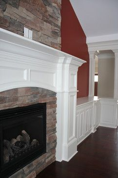 Molding Ideas More Customized Molding Moulding Ideas Contemporary Fireplaces Room Ideas