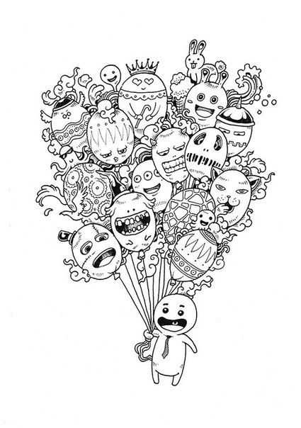 2822 best images about Adult Coloring Pages on Pinterest