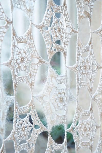 54 Best Images About Crochet Curtains On Pinterest Felt Garland