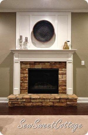 17 Best ideas about Brick Fireplace Remodel on Pinterest  Update brick fireplace Whitewash
