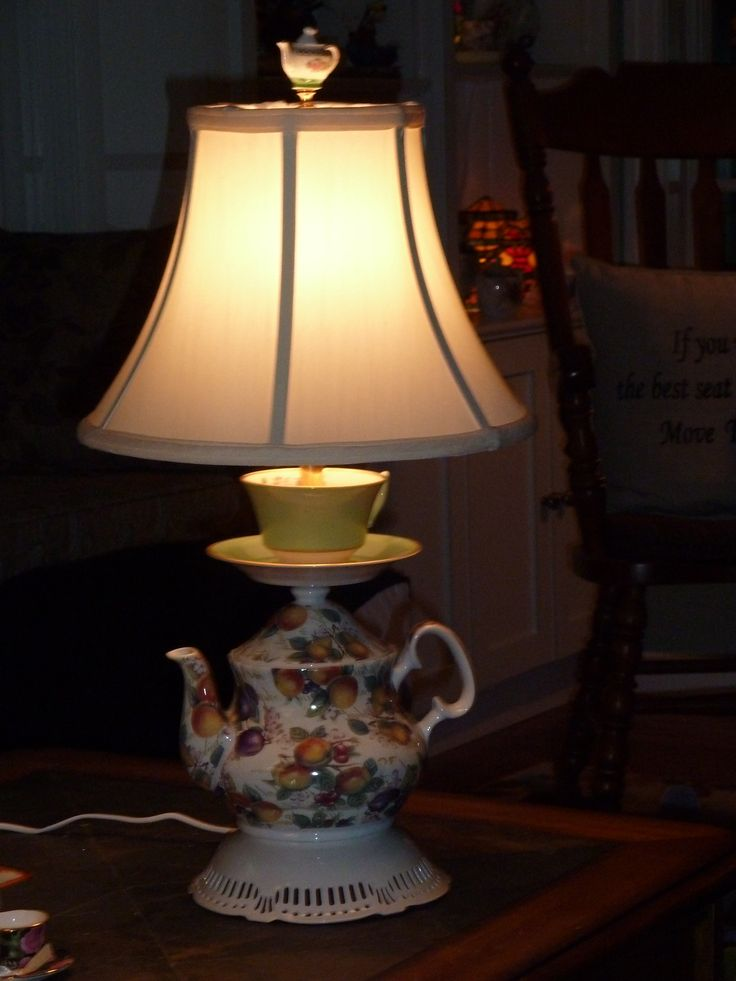 17 Best Images About Teapot Lamps On Pinterest Vintage