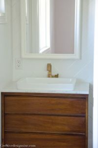 Mid-century Modern bathroom vanity | Bathrooms | Pinterest ...