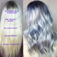 Metallic Obsession Creating This Ash Blonde Ombre By Guy ...