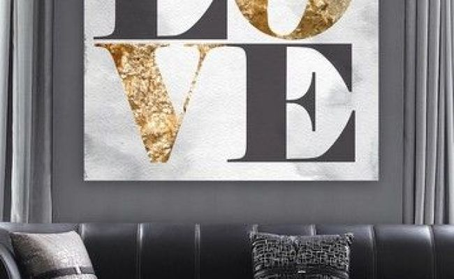 Build On Love Stone Canvas Art By Oliver Gal Gallery On