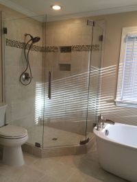 Shower and stand alone tub. | Mia Shower Doors | Pinterest ...