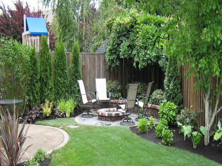 The 25 Best Ideas About Small Backyard Landscaping On Pinterest
