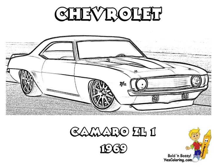 1969 Chevrolet Camaro ZL-1 $1 million Print Out This