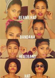 ideas big chop hairstyles