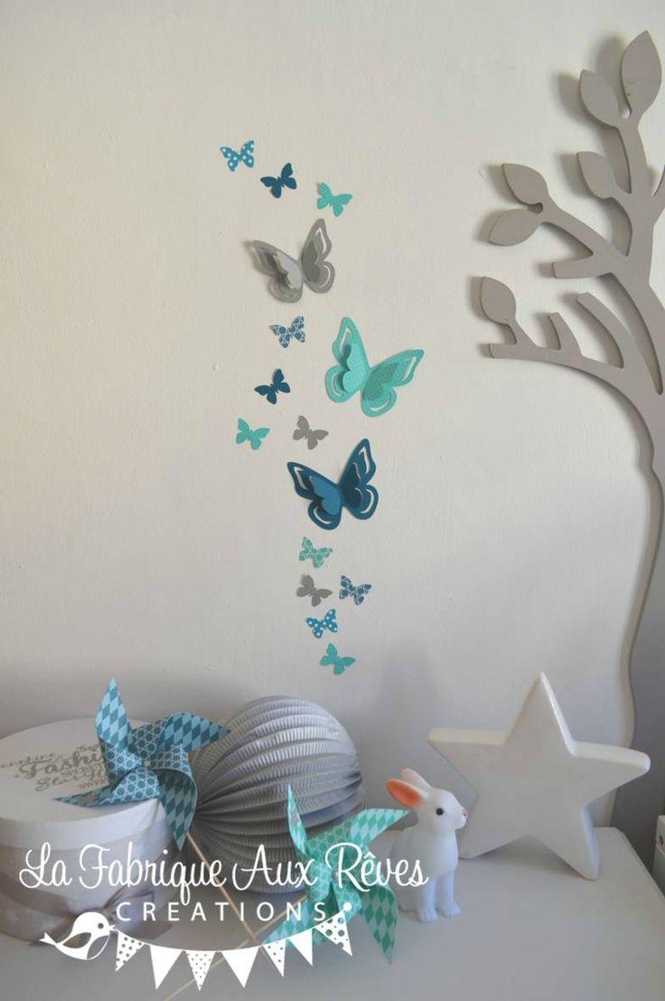38 Best images about Dcoration chambre enfant bb turquoise gris blanc on Pinterest  Grey