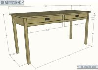 Free Writing Desk Plans - WoodWorking Projects & Plans