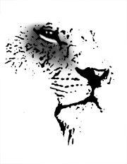 africa stencil - google