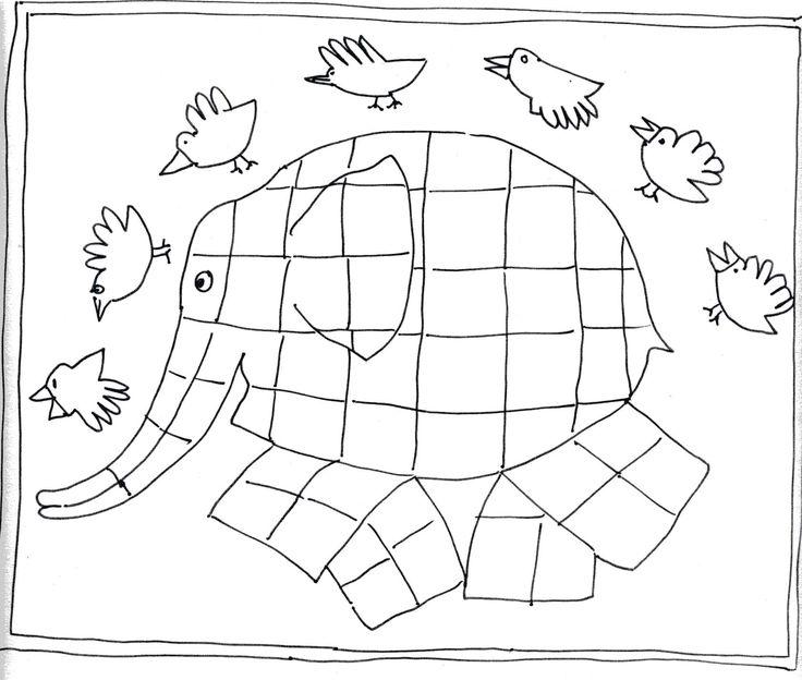 100 best images about Boek Elmer de olifant on Pinterest