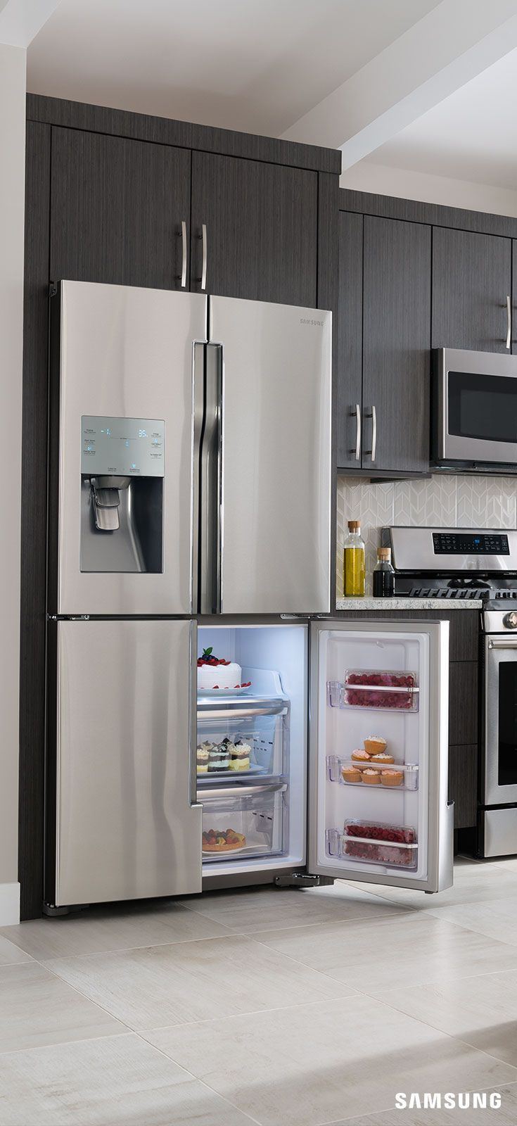 25 best ideas about Cabinet depth refrigerator on