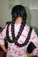 twin braids hairstyle women