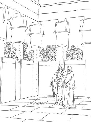 59 best images about Moses Coloring Pages on Pinterest