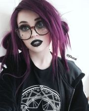 ideas goth hairstyles