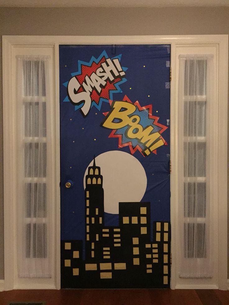 25+ best ideas about Superhero Door on Pinterest