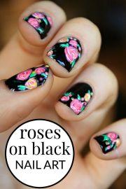 ideas rose nails