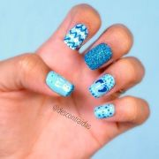 1000 ideas baby boy nails