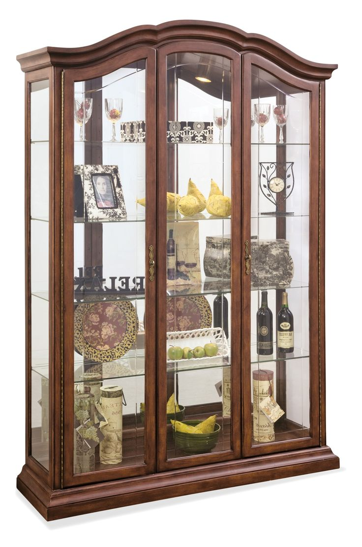1000 ideas about Curio Cabinets on Pinterest  Pulaski